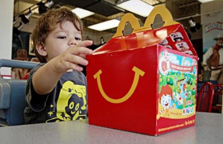 «Макдоналдс» будет готовить нетакую жирную пищу