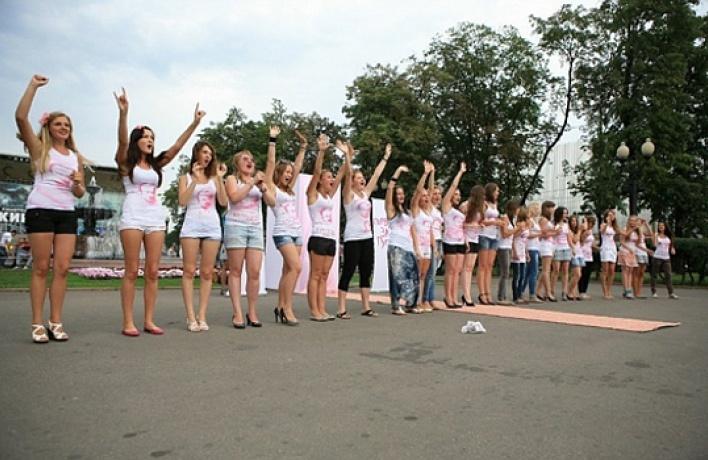 4августа девушки оголятся наПушкинской