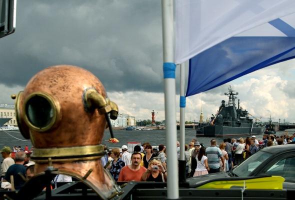 Фотоотчет: Как прошел День Военно-Морского флота вПетербурге - Фото №3