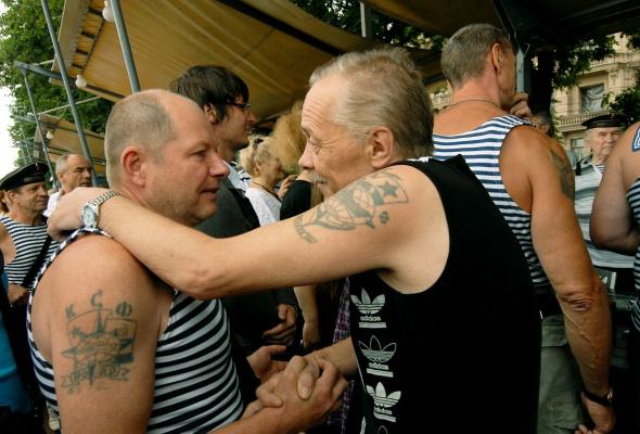 Фотоотчет: Как прошел День Военно-Морского флота вПетербурге - Фото №10