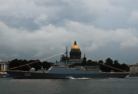 Фотоотчет: Как прошел День Военно-Морского флота вПетербурге - Фото №14