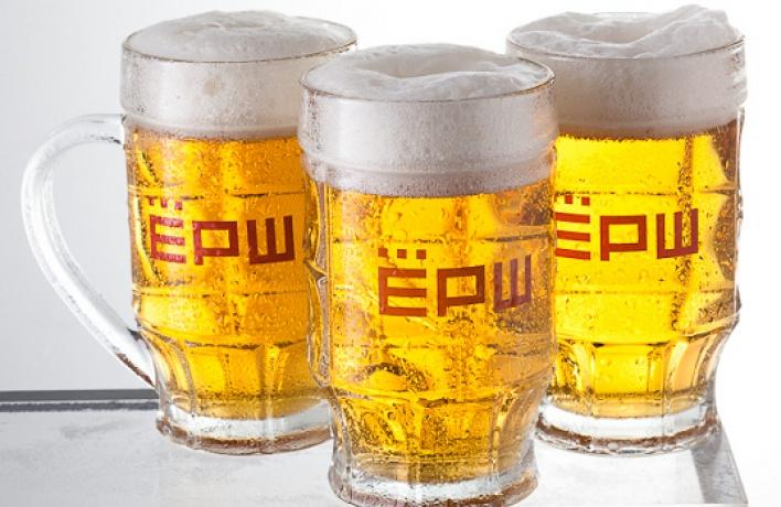 Пиво под шашлык в«Ерше»