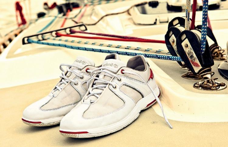 Вмагазины Timberland поступила парусиновая обувь