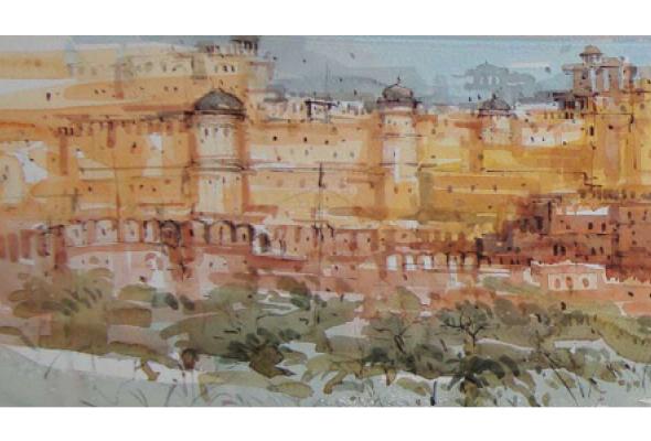 """Шри Кашинатх Дас """"Архитектурные памятники Индии"""" - Фото №0"""
