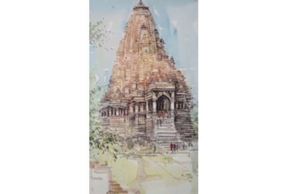 """Шри Кашинатх Дас """"Архитектурные памятники Индии"""" - Фото №1"""