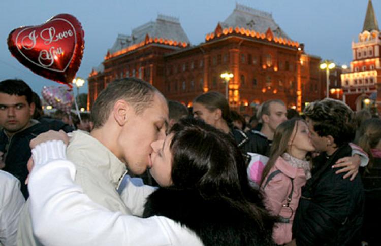 Акция «Kiss me»