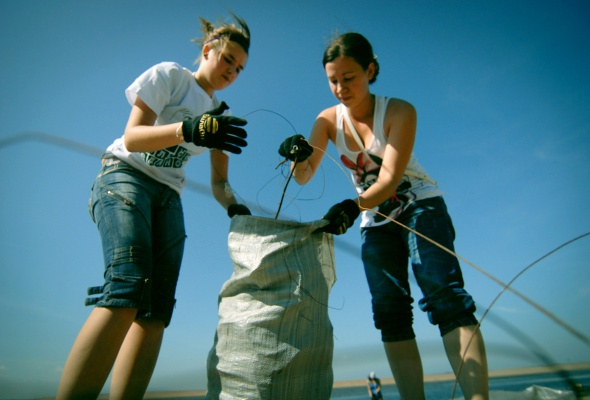 Фотоотчет: Как прошла акция «Блоггеры против мусора» вСанкт-Петербурге - Фото №0