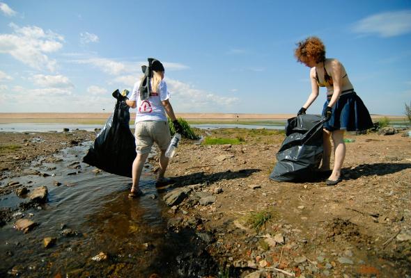 Фотоотчет: Как прошла акция «Блоггеры против мусора» вСанкт-Петербурге - Фото №5