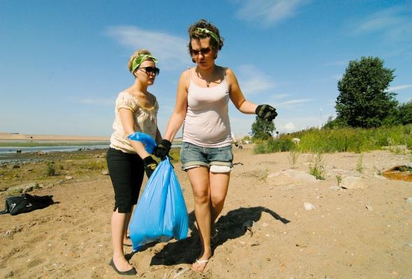 Фотоотчет: Как прошла акция «Блоггеры против мусора» вСанкт-Петербурге - Фото №6