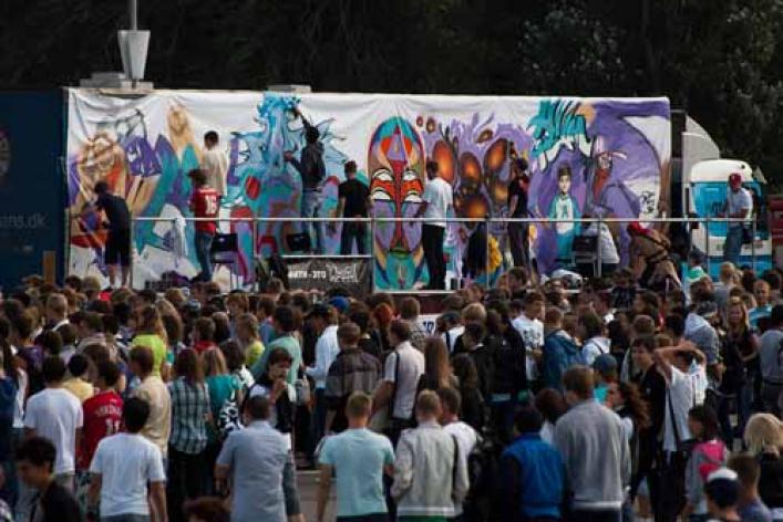 Фестиваль уличной культуры Snickers Urбаnия 2011