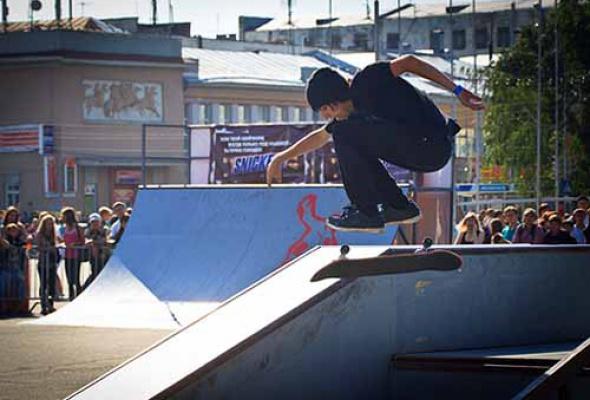 Фестиваль уличной культуры Snickers Urбаnия 2011 - Фото №2
