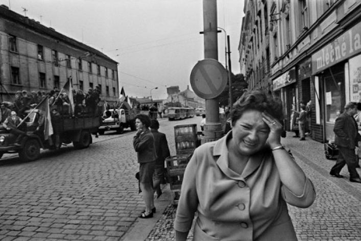 Йозеф Коуделка «Вторжение 68 Прага»