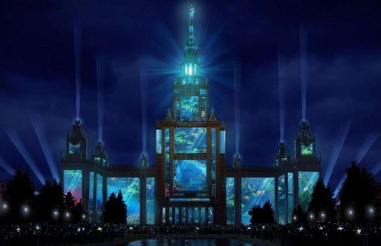 НаВоробьевых горах вДень города покажут «4D-шоу»