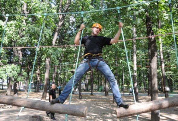 Парк приключений «ПандаПарк» вСокольниках - Фото №2