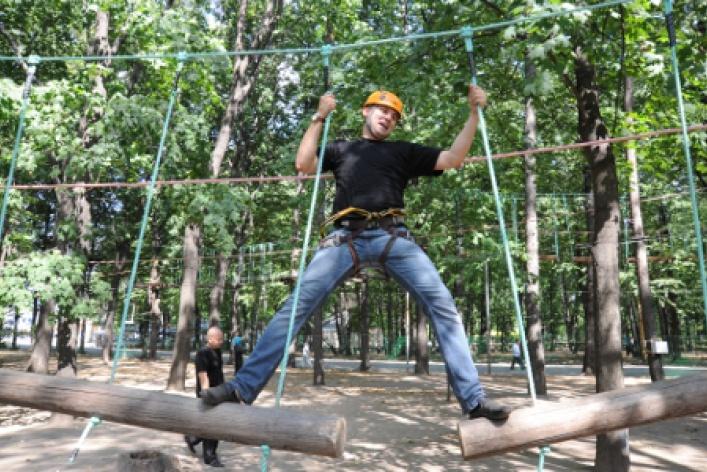 Парк приключений «ПандаПарк» вСокольниках