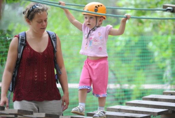 Парк приключений «ПандаПарк» вСокольниках - Фото №6