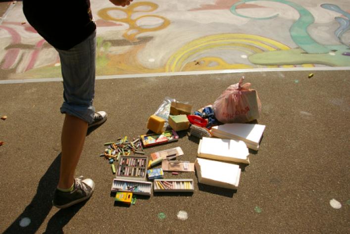 ВЛужниках прошел фестиваль street painting