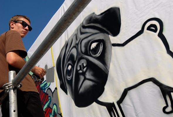 Фестиваль уличной культуры Snickers Urбаnия 2011 - Фото №3