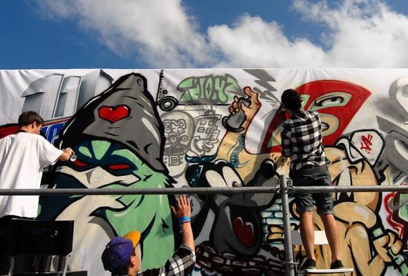 Фестиваль уличной культуры Snickers Urбаnия 2011 - Фото №4