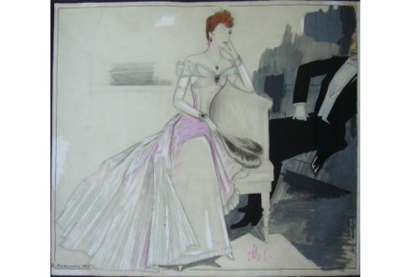 Работы художников-эмигрантов из собрания галереи и частных коллекций - Фото №0