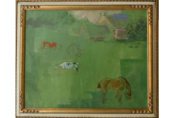 Работы художников-эмигрантов из собрания галереи и частных коллекций - Фото №1