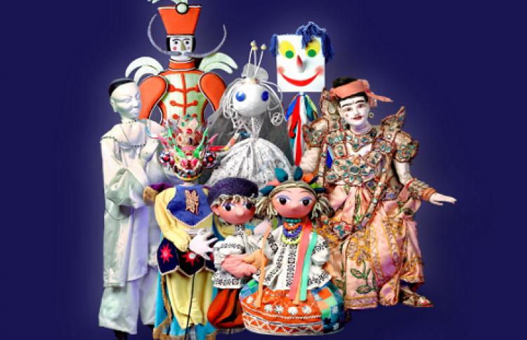 Выставка кукол театра им. Образцова