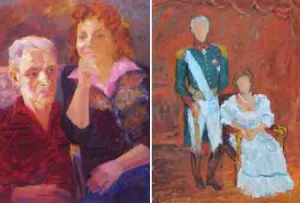 Двойной портрет. Елена и Федор - Фото №1