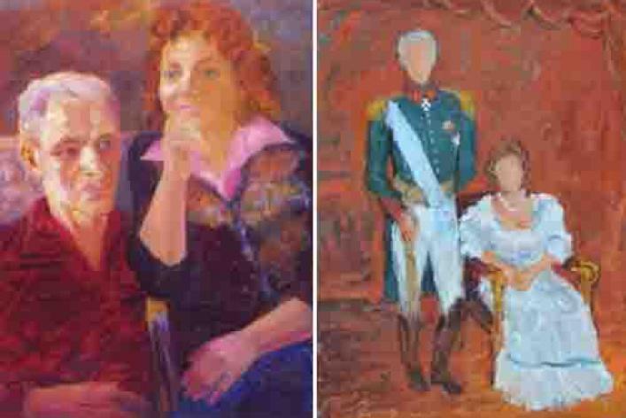 Двойной портрет. Елена и Федор