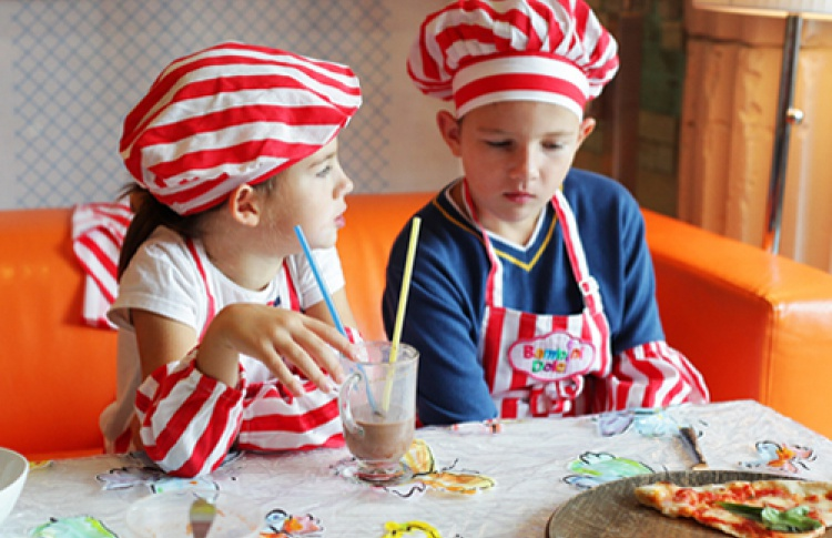 Bambini Dolci: а не побаловать ли себя пиццей?