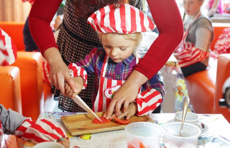 Bambini Dolci: готовим карпаччо