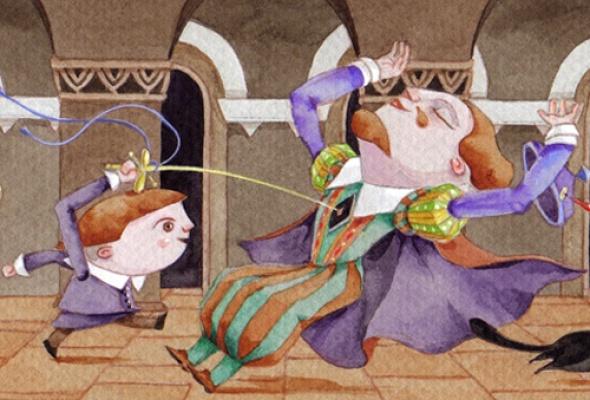 """Фумико Накамура (Япония) """"Гамлет-ребенок - 33 комнаты, в которых нет героя"""" - Фото №0"""