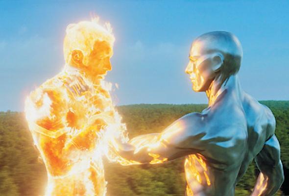 Фантастическая четверка: Вторжение Серебряного Серфера - Фото №3