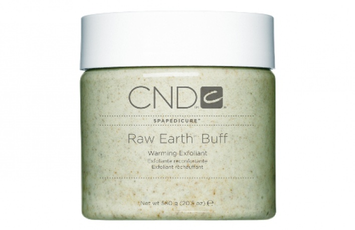 Скраб для ног Raw Earth Buff от CND