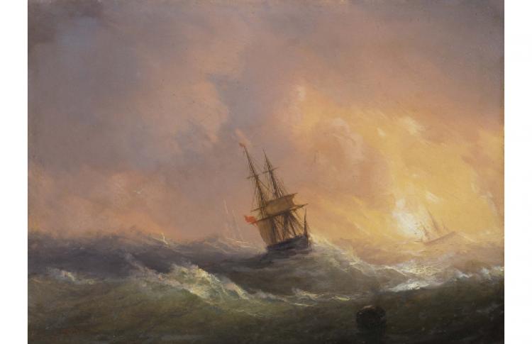 Я рисую море. Маринистика в русской живописи XIX-ХХ веков