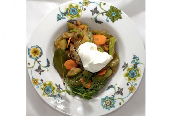 Обзор блюд стыквой, кабачками ипатиссонами - Фото №12