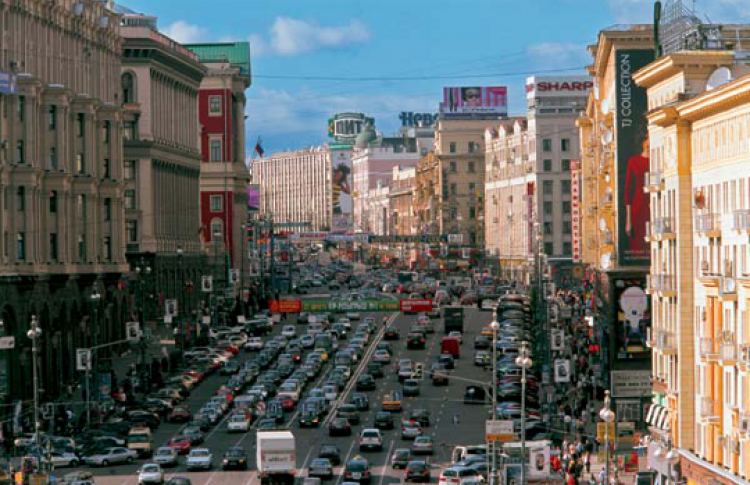 Улица Тверская и сталинский генплан