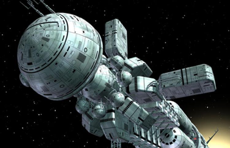Тяжелый марсианский корабль как прототип будущих межпланетых кораблей