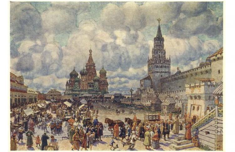 Великие художники Москвы