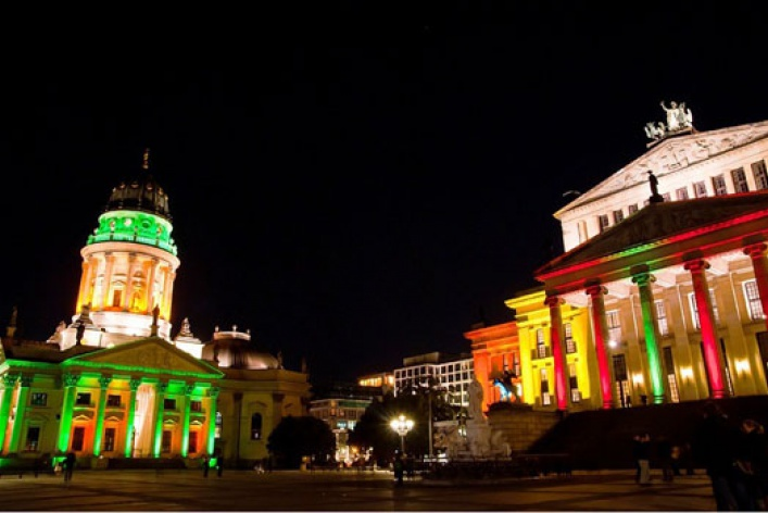 Грандиозный фестиваль света впервые вМоскве