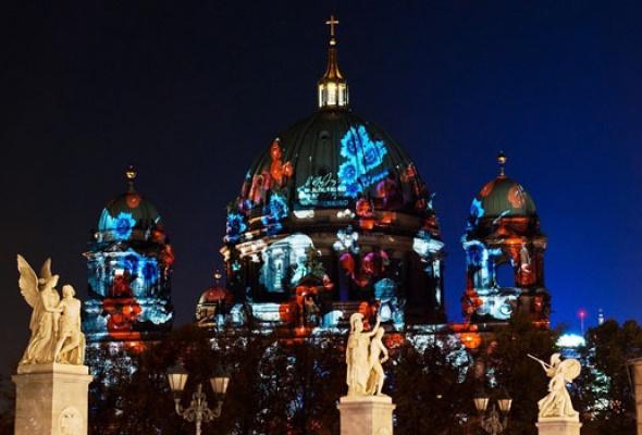 Грандиозный фестиваль света впервые вМоскве - Фото №7