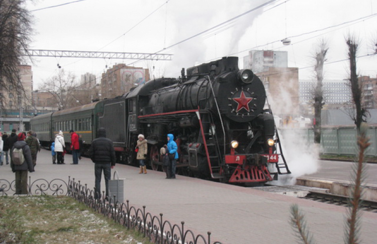 На ретро-поезде по железнодорожному кольцу Москвы