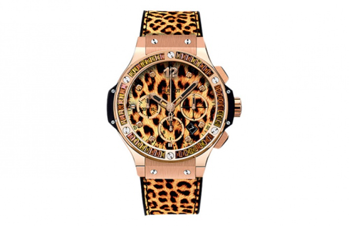 Новые модели Hublot посвящены леопарду иснежному барсу