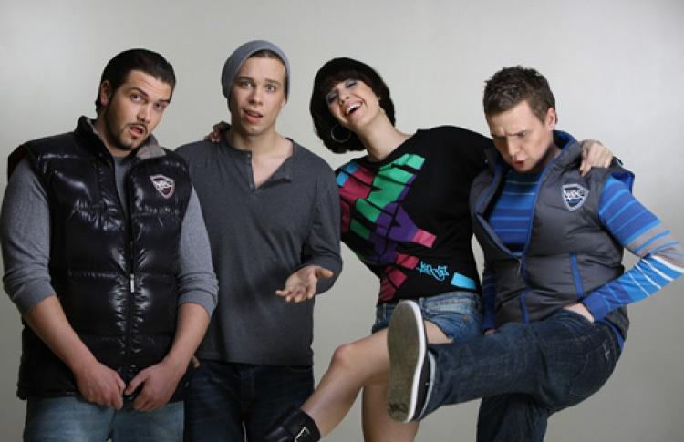 Karaoke Non Stop с группой Т9