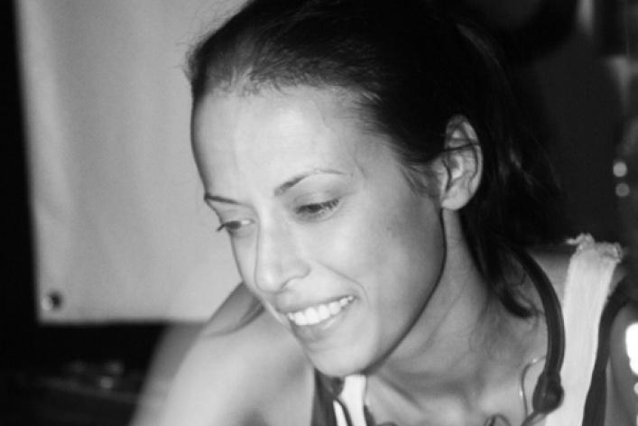 Efir Halloween. Alessio Merreo (Amam, Италия), Katya Vanila (Mосква), Юра Усачев (Гости из Будущего/Москва)