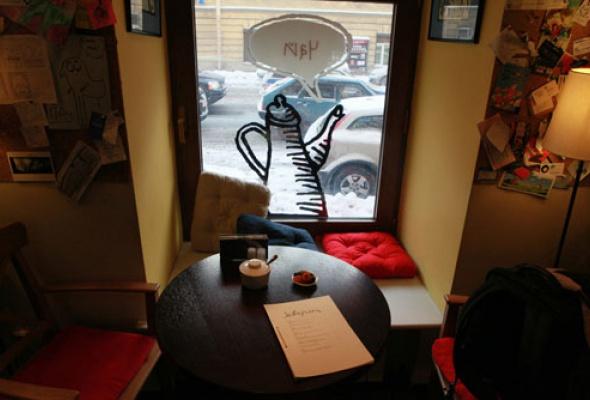 Лавка и кафе Студии Артемия Лебедева - Фото №1