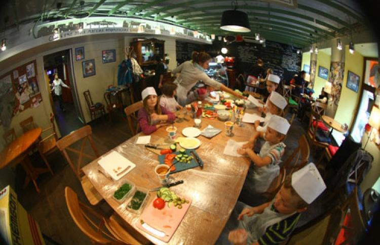 Детские кулинарные занятия