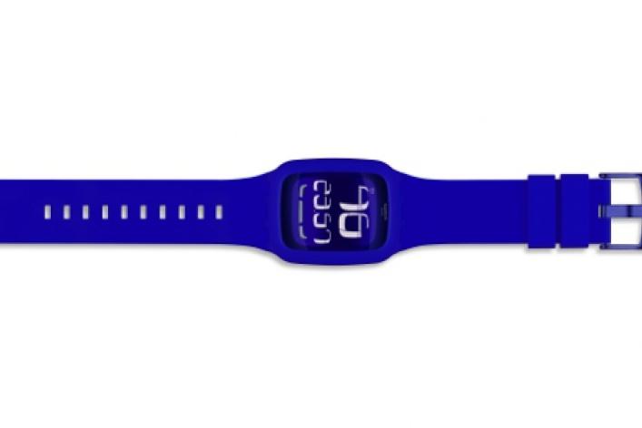 Swatch выпустили часы ссенсорным экраном