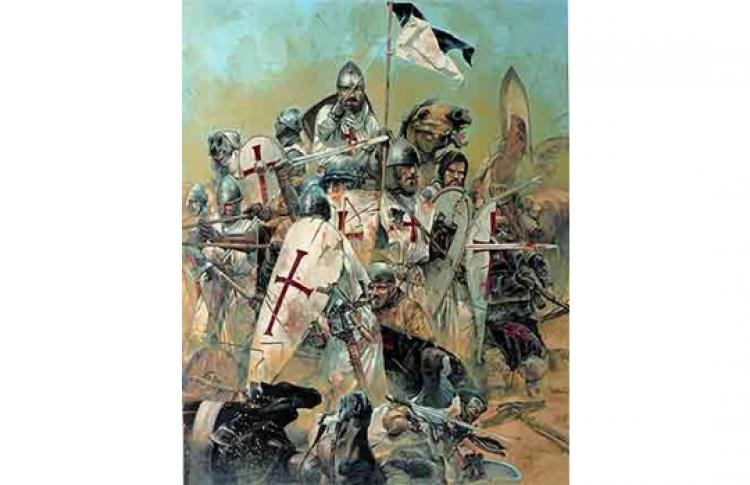 Крестовые походы: встреча Запада и Востока