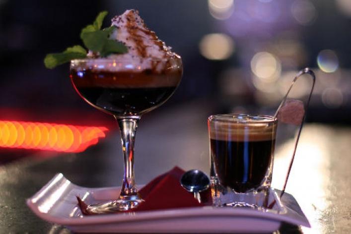 Десертные коктейли