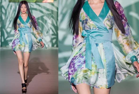 Самые эффектные платья Volvo Fashion Week - Фото №7